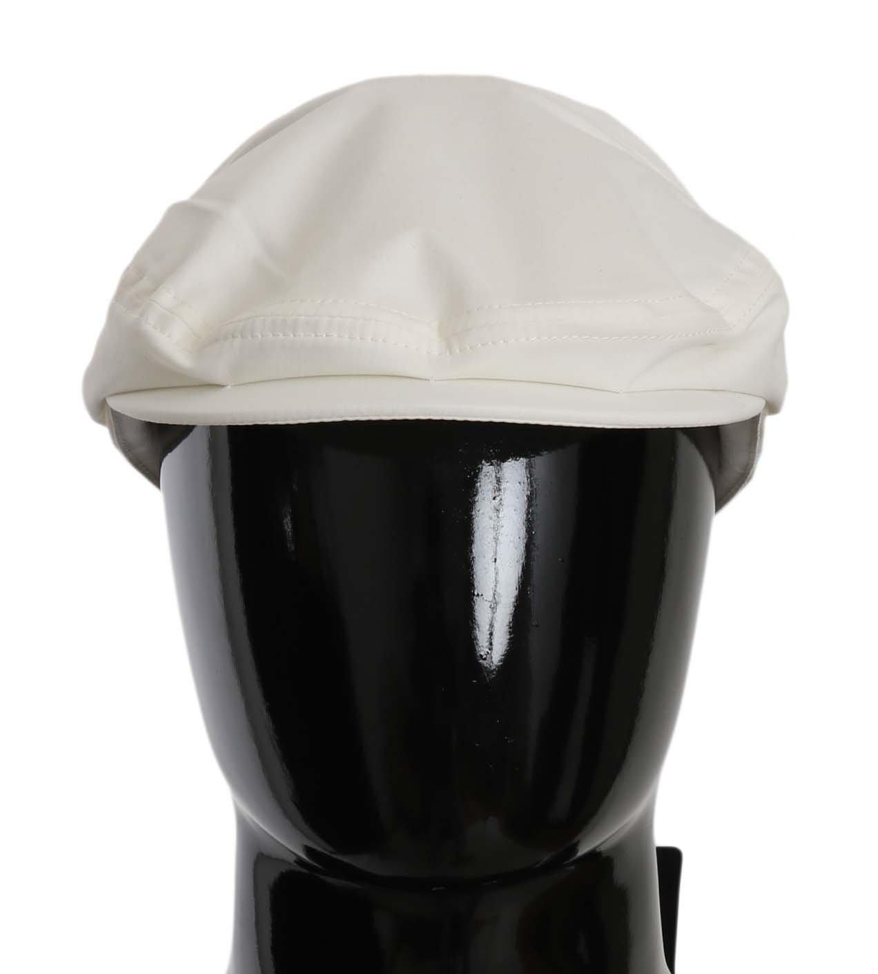 Dolce & Gabbana Men's Hat White HAT70166 - 58 cm|M