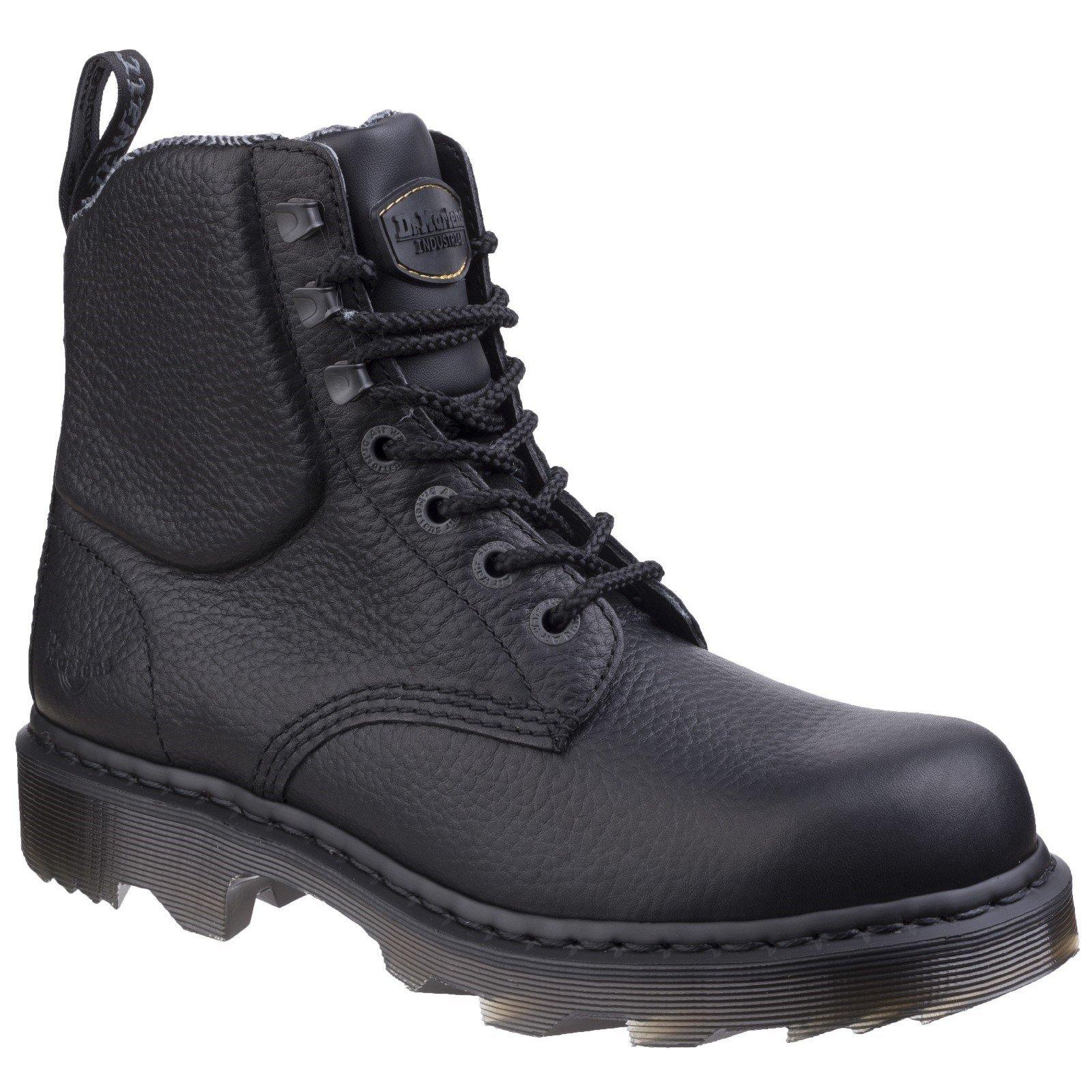 Dr Martens Unisex Calshott Service Boot Black 26024-43394 - Black 6