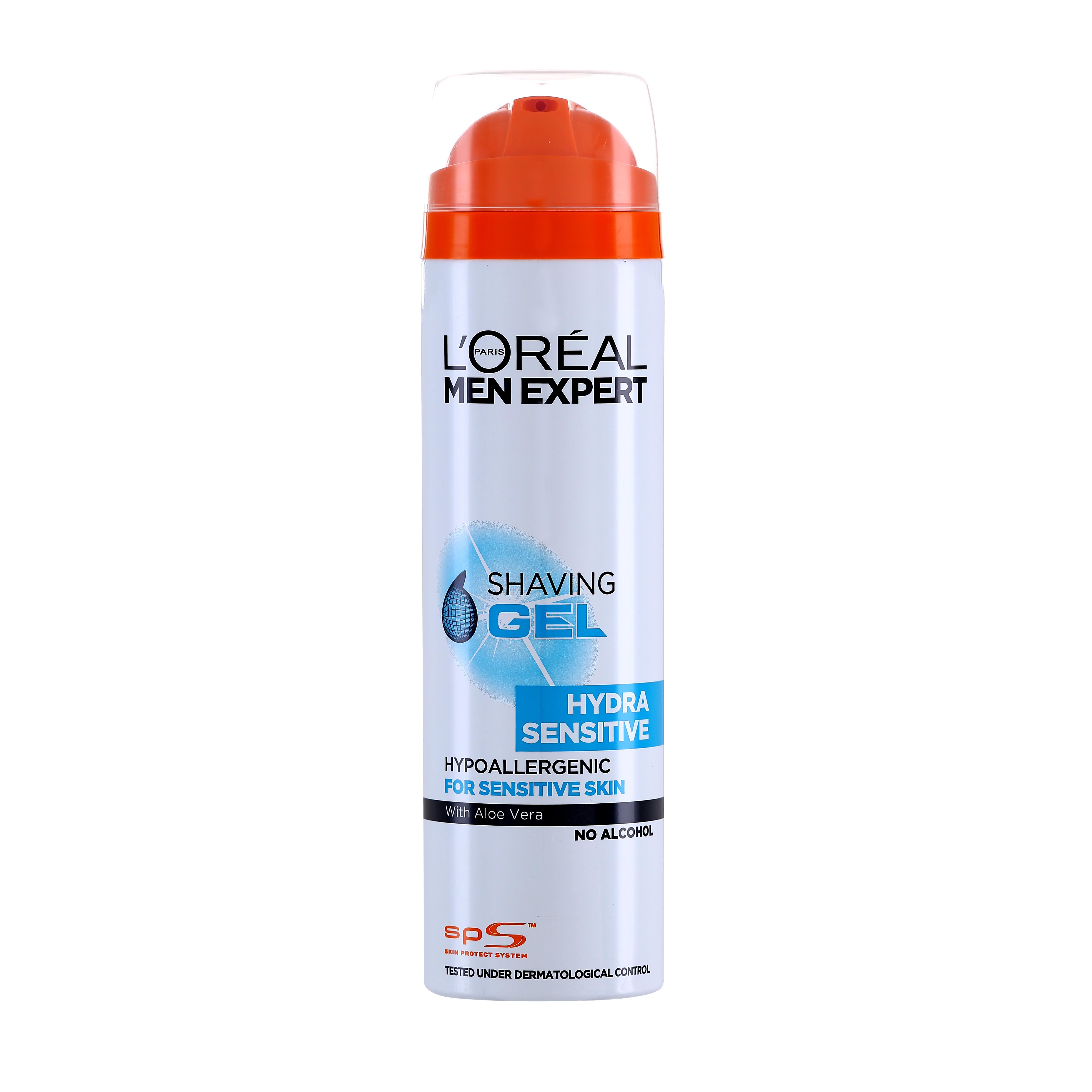 L'Oréal - Hydra Sensitive Shaving Gel 200 ml