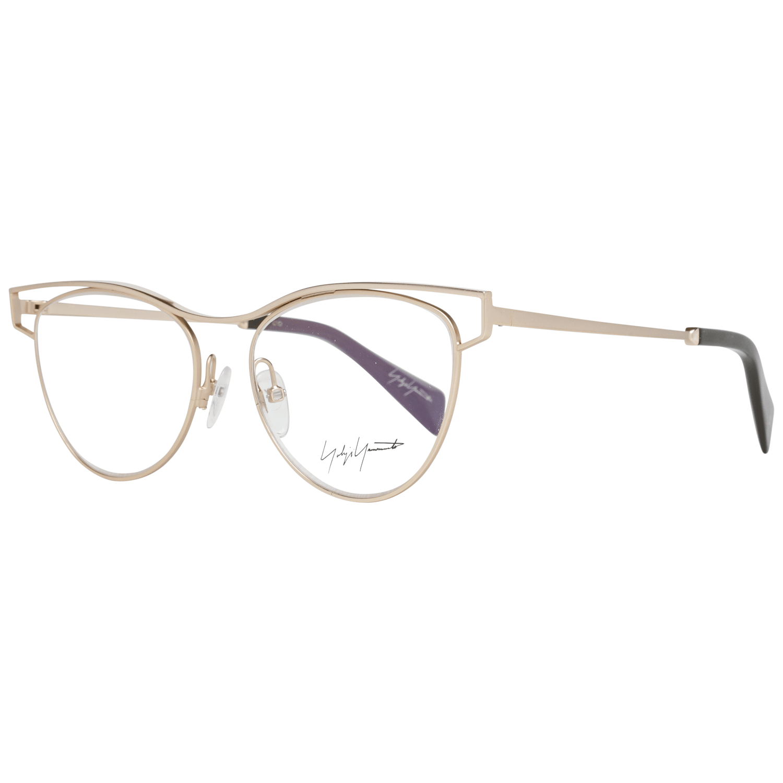 Yohji Yamamoto Women's Optical Frames Eyewear Gold YY3016 52401