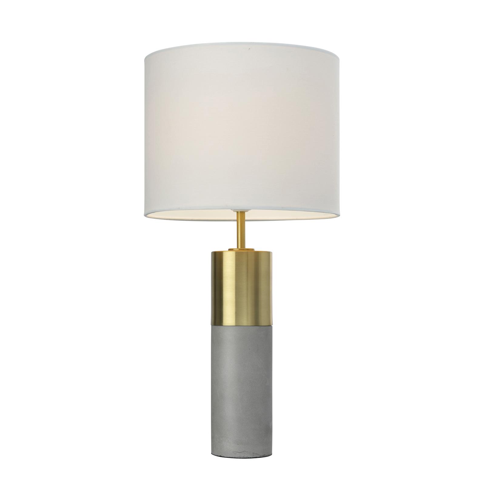 Villeroy & Boch Turin pöytälamppu betonijälj. 25cm