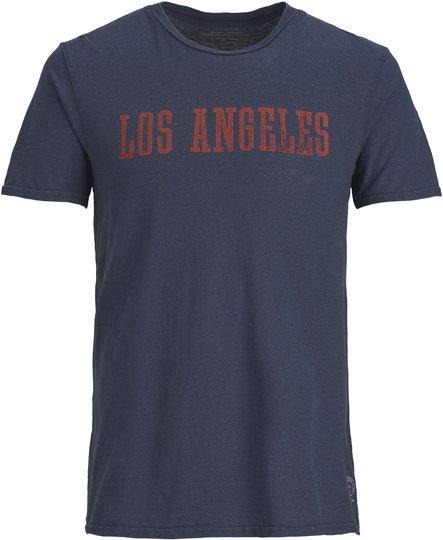 Jack & Jones Benton T-Shirt, Navy Blazer 176