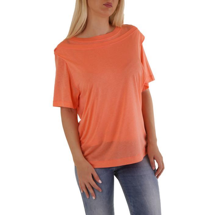 Diesel Women's T-Shirt Orange 302532 - orange S