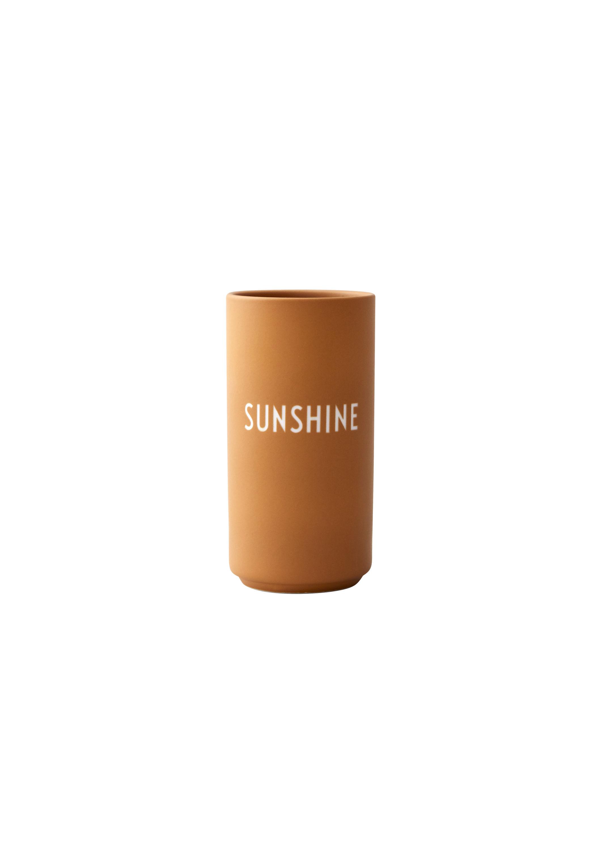 Design Letters - Favorit Vase Sunshine - Orange (10101005MUSUNSHINE)