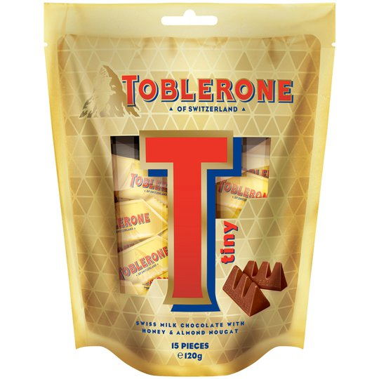 Toblerone Goldbag - 26% rabatt
