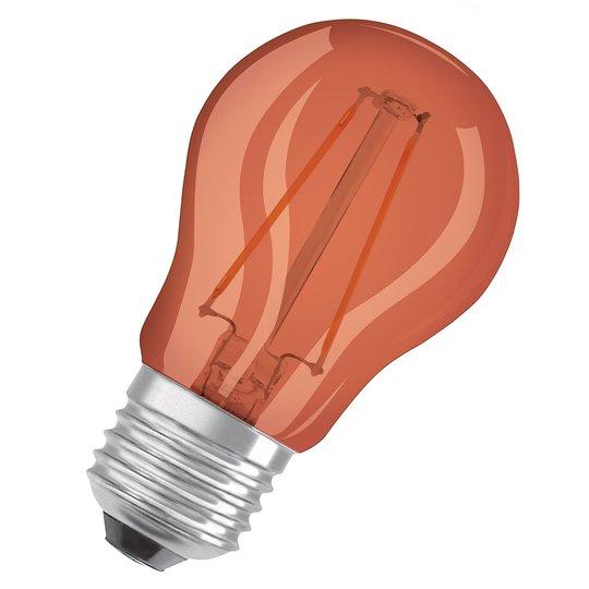 OSRAM-LED-lamppu E27 Star Décor 1,6W oranssi