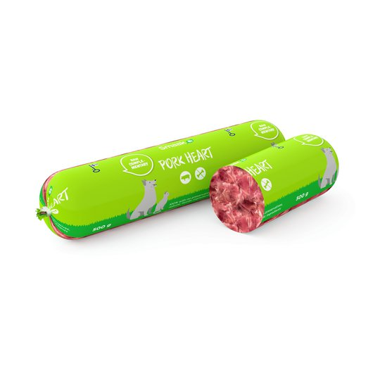 Smaak Raw Complementary Pork Heart Minced Meat 500 g