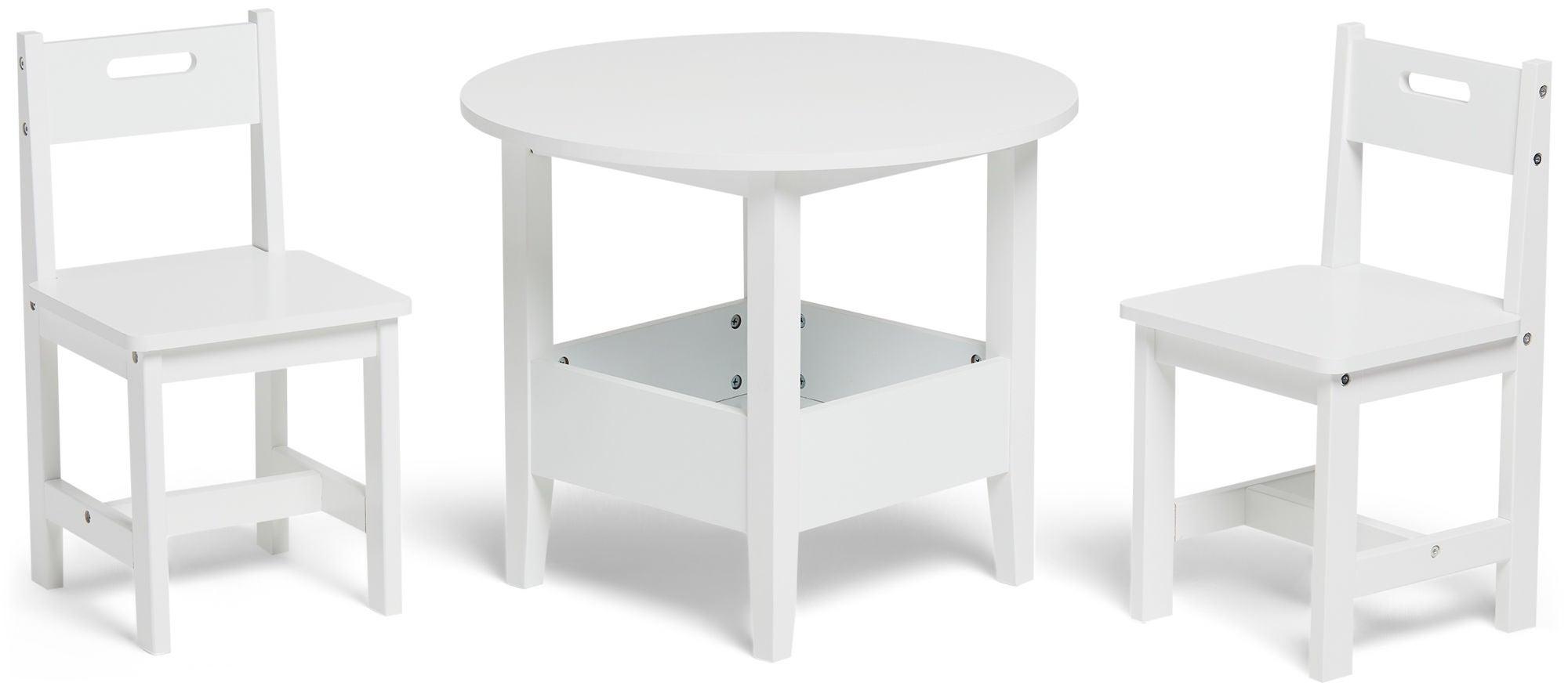 Alice & Fox Pöytä ja Tuolit, Valkoinen