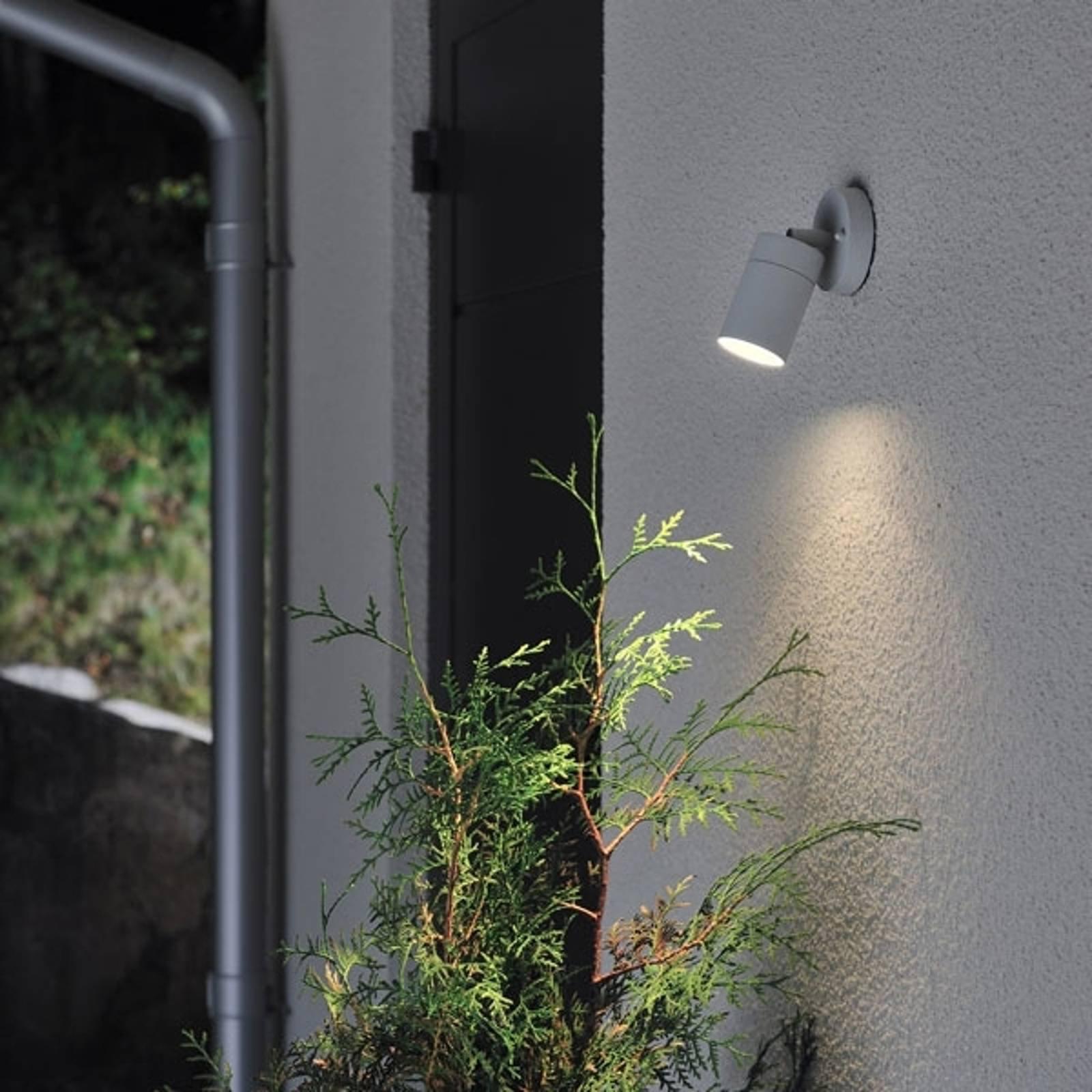 Fleksibel utendørs NEW MODENA vegglampe i grå