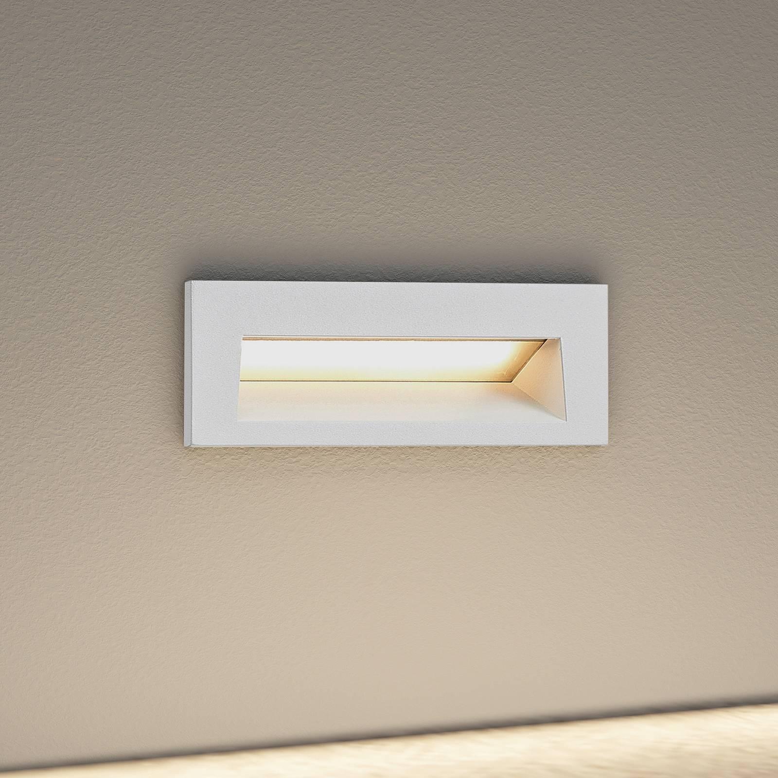 Arcchio Javis -LED-uppovalaisin, sileä, valkoinen