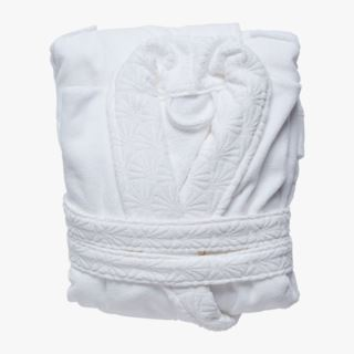 Palmea kylpytakki valkoinen