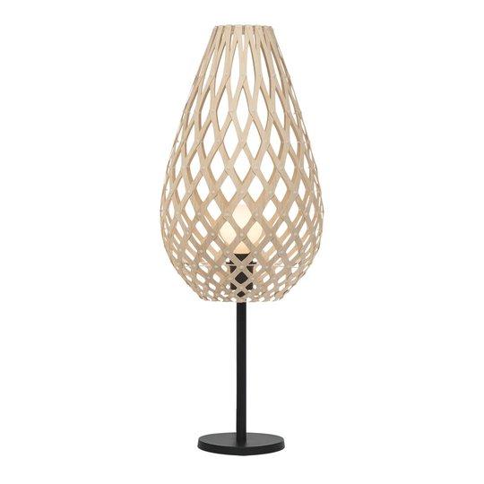 david trubridge Koura bordlampe natur