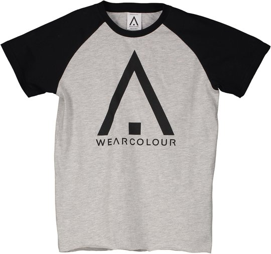 Wearcolour Rag T-Shirt, Grey Melange 120