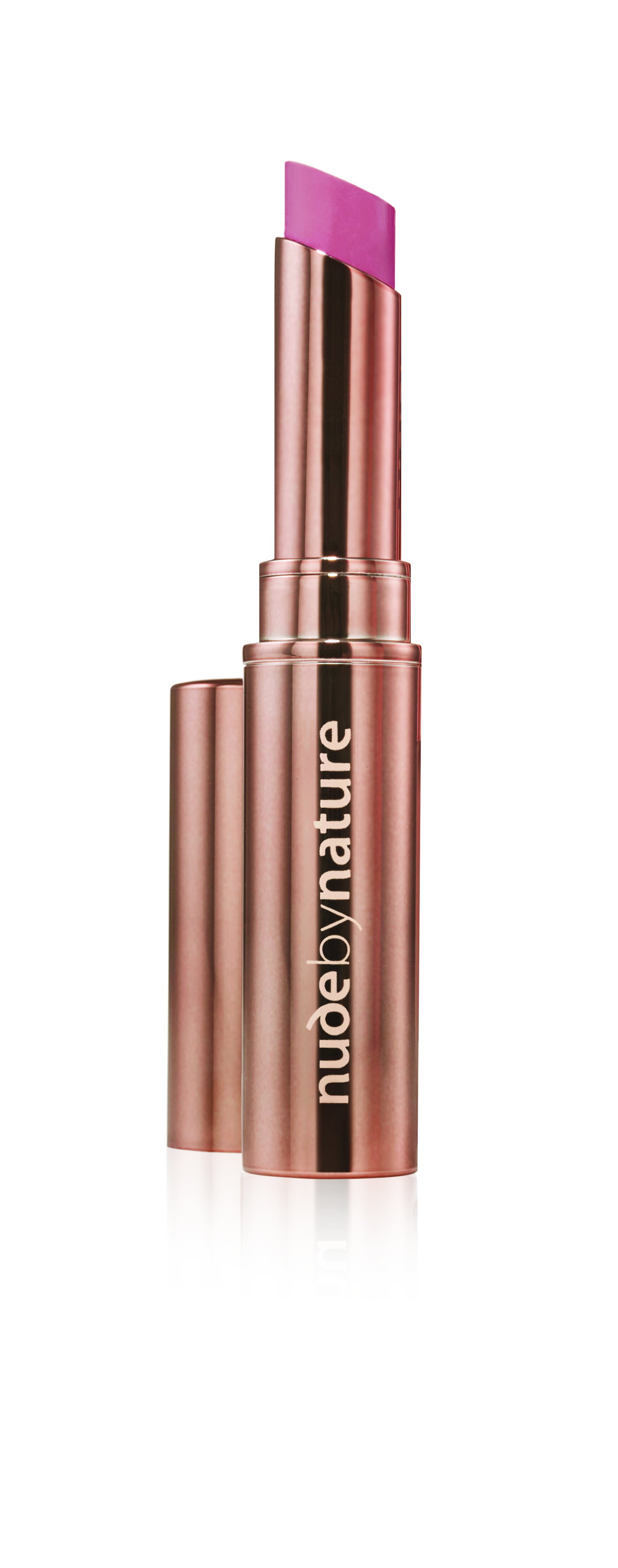 Nude by Nature - Creamy Matte Lipstick - 06 Coral Pink