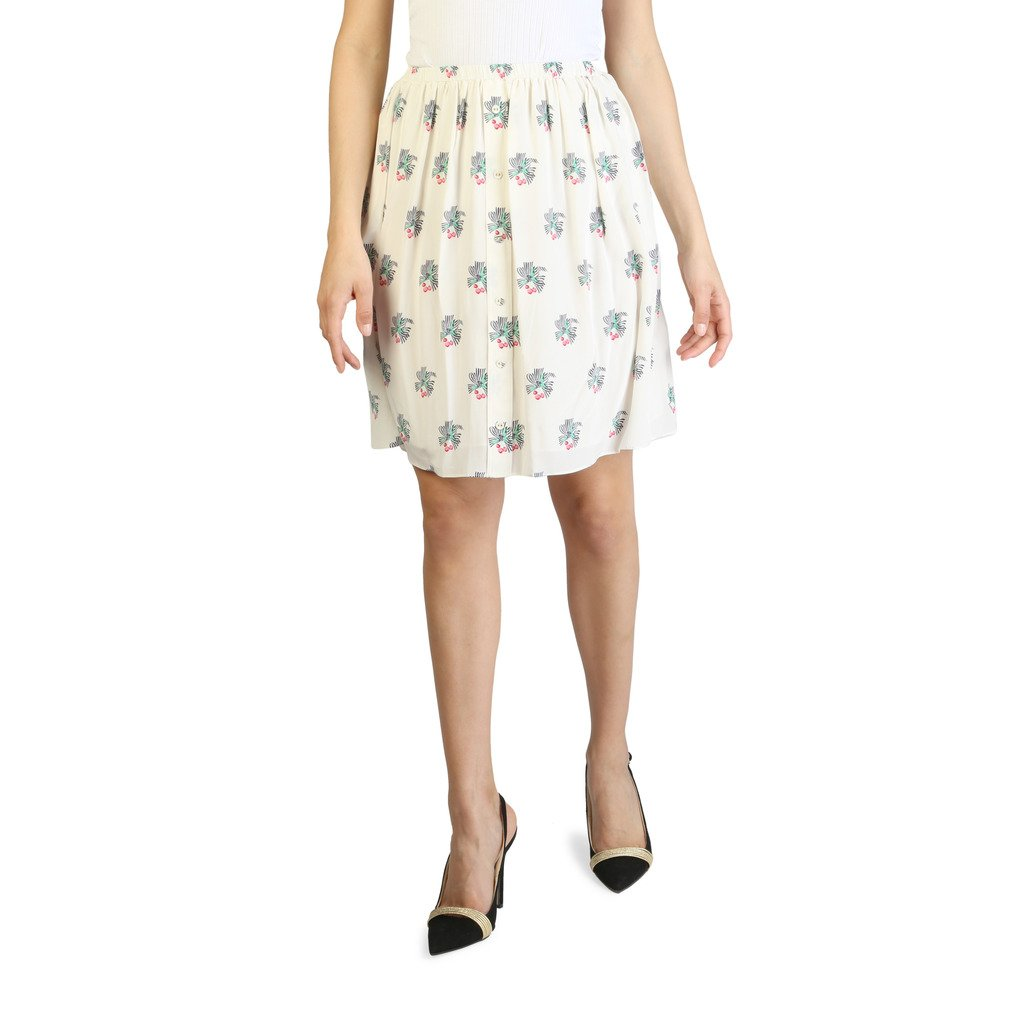 Tommy Hilfiger Women's Skirt White WWW0WW17446 - white 10