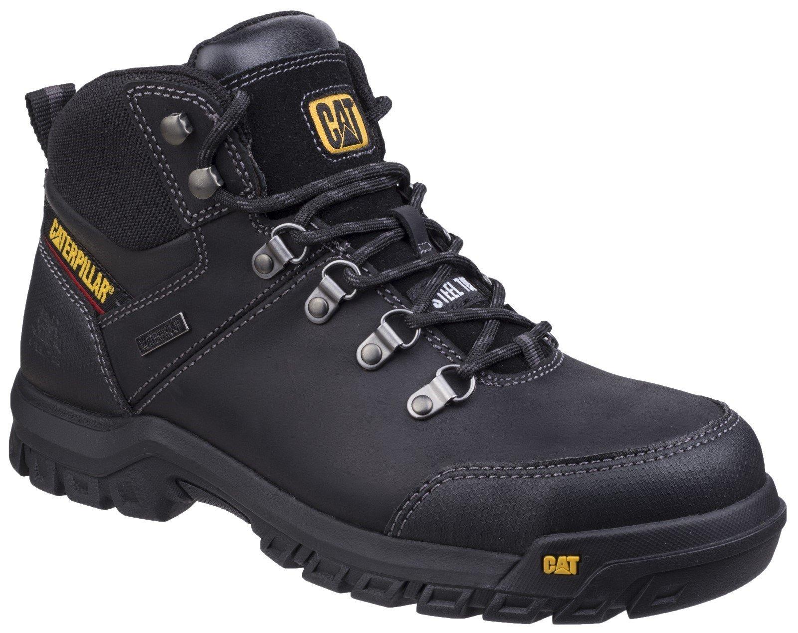 Caterpillar Men's Framework Boot Black 26946 - Black 6
