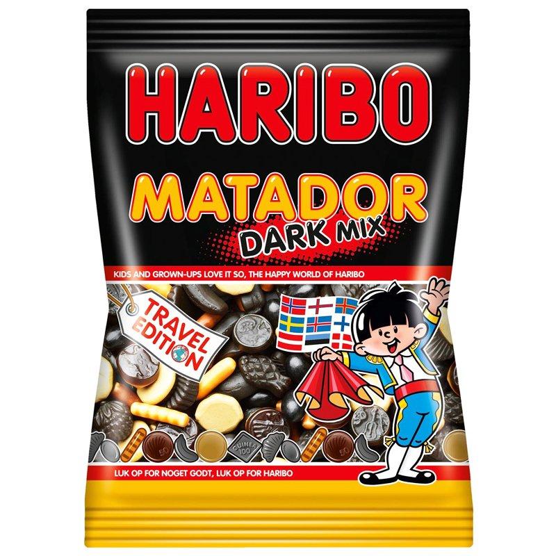 """Godis Matador """"Dark Mix"""" 450g - 67% rabatt"""
