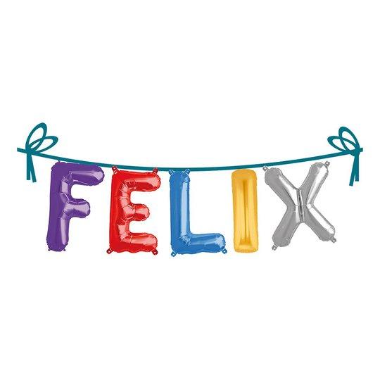 Ballonggirlang Folie Namn - Felix