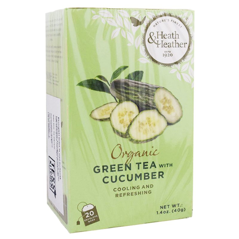 "Grönt Te ""Cucumber"" 20-pack - 42% rabatt"