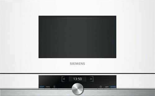 Siemens Bf634lgw1 Iq700 Inbyggd Mikrovågsugn - Vit