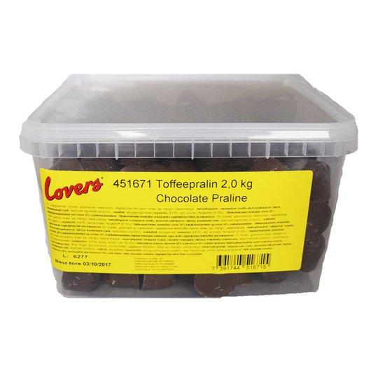 Hel Låda Tofféepralin 2kg - 61% rabatt