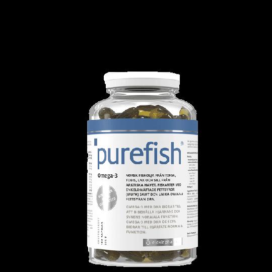 Purefish, 180 kapslar