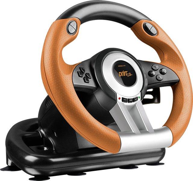 Speedlink - Drift O.Z. Racing Wheel & Pedals