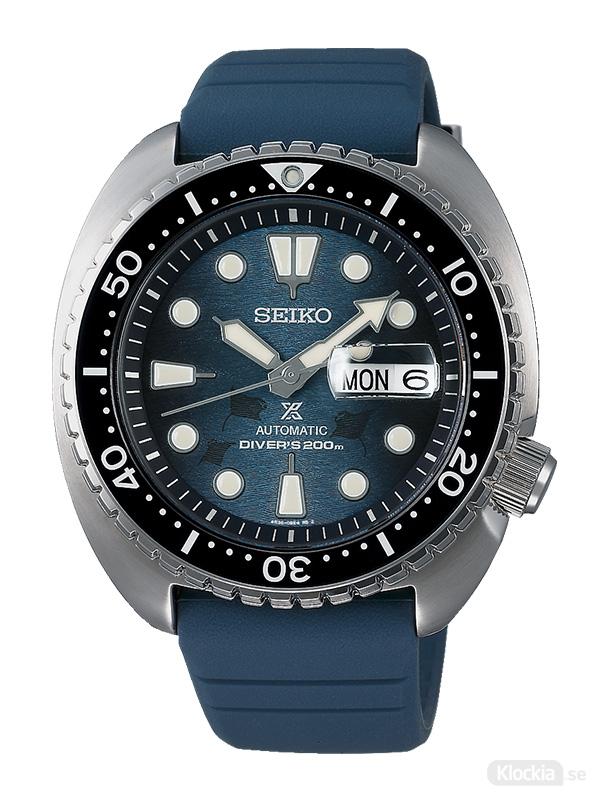 "SEIKO Prospex Automatic Diver 45mm King Turtle - Save The Ocean ""Dark"" Manta Ray Edition SRPF77K1"