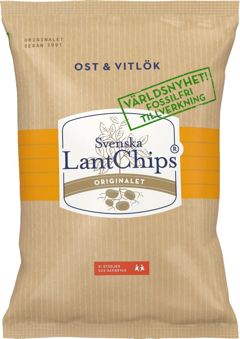 LantChips Ost & Vitlök - 25% rabatt