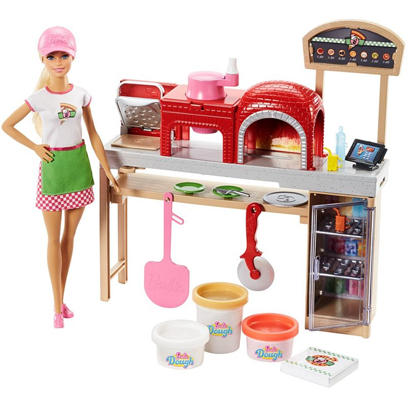 Barbie - Pizza Chef Doll and Playset (FHR09)