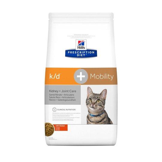 Hill's Prescription Diet Feline k/d+ Mobility Kidney + Joint Care Chicken (2 kg)