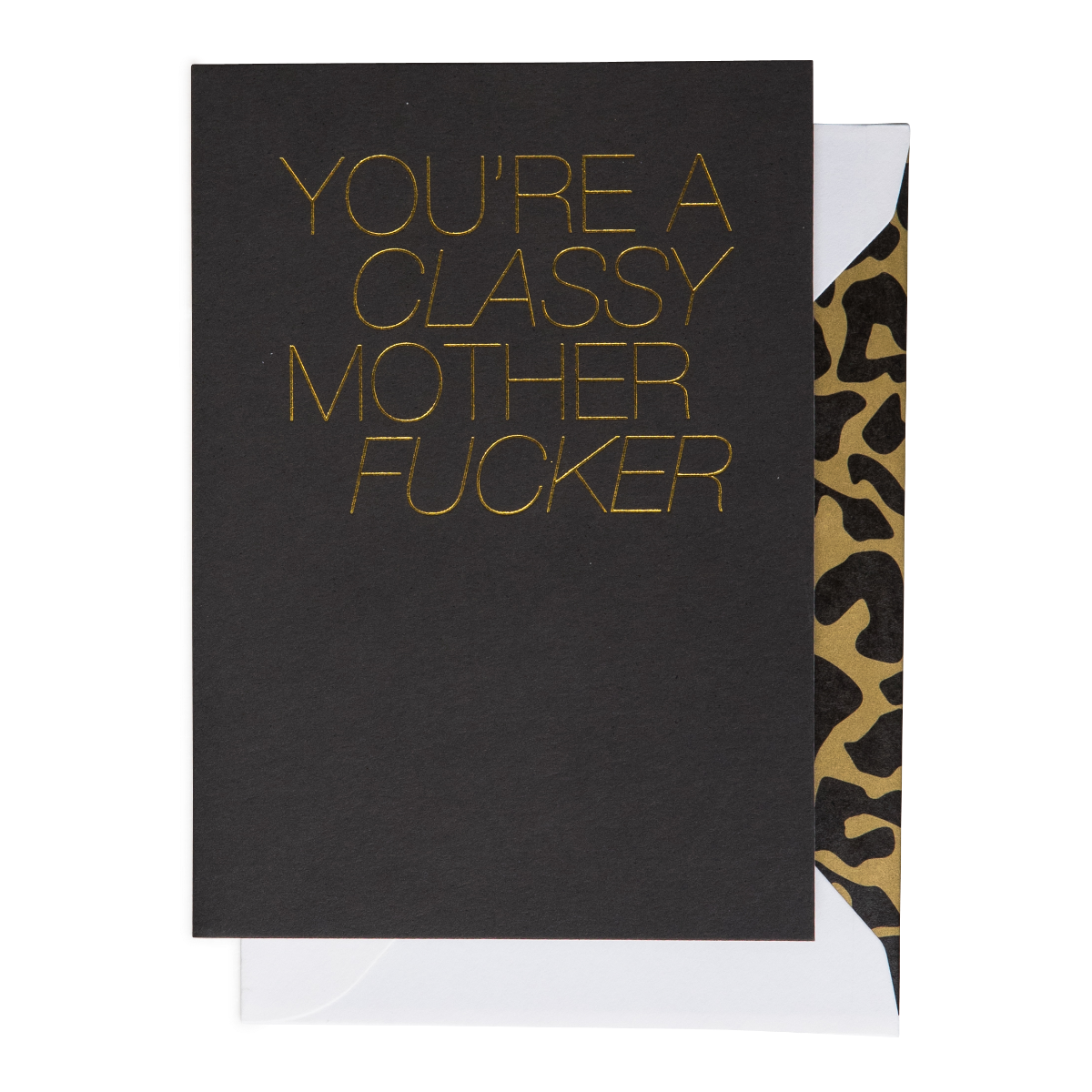 Cardsome   Cards - Classy Motherf*cker
