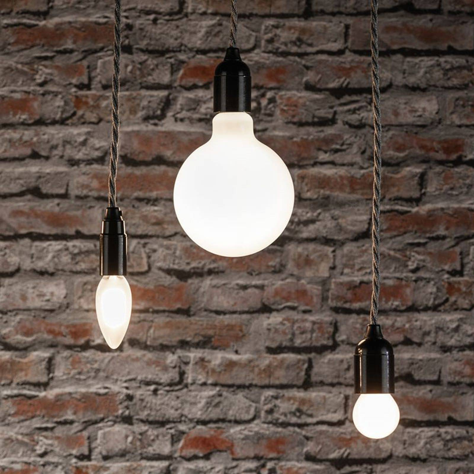Paulmann-LED-pisaralamppu E27 5W 2700K matta, 2kpl