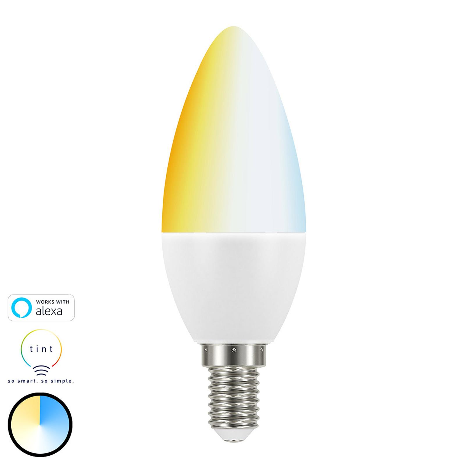Müller Licht tint white-LED-kynttilälamppuE14 5,8W