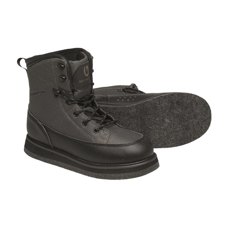 Kinetic RockGaiter II Wading Boot 46/47 Filt, Dark Olive
