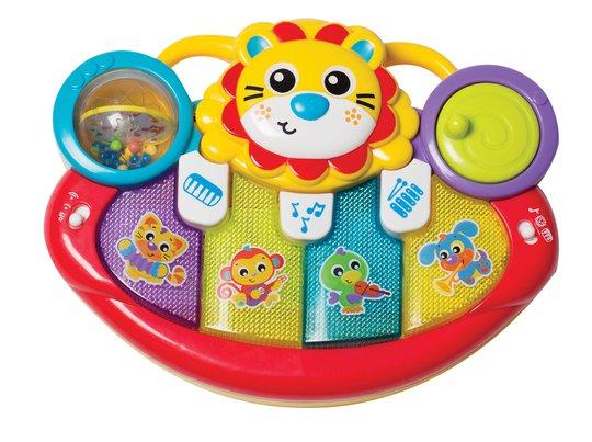 Playgro Jerrys Class Aktivitetsleke Piano Løve
