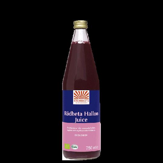 Rödbetjuice Hallon, 750 ml