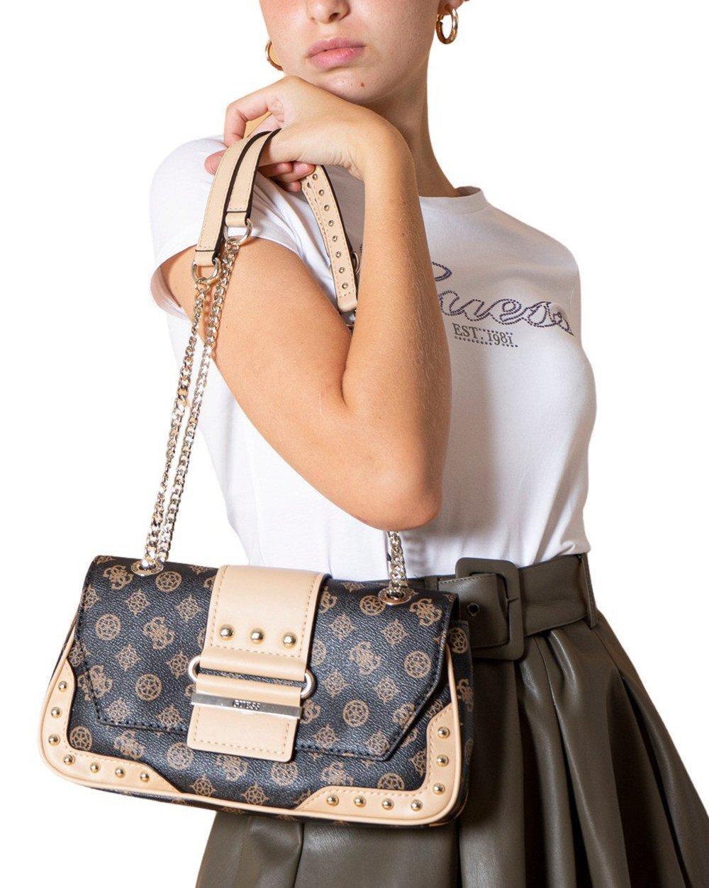 Guess Women's Shoulder Bag Various Colours 305310 - brown UNICA