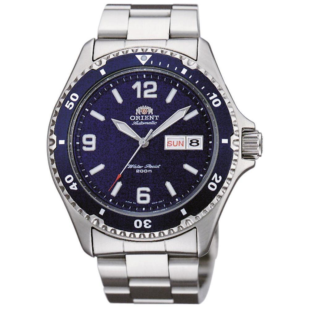 Orient Men's Watch Silver FAA02002D9
