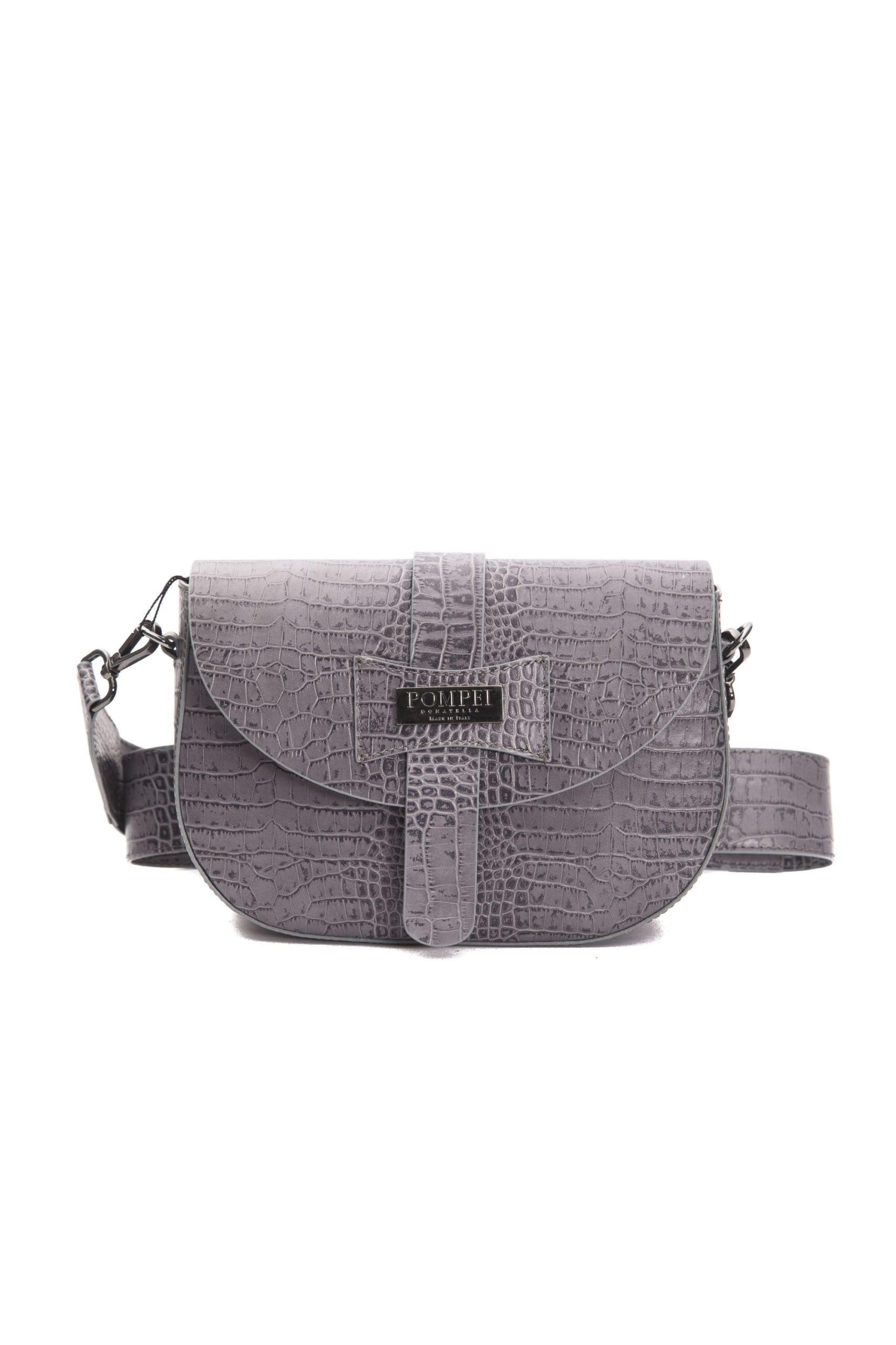 Pompei Donatella Women's Grigio Crossbody Bag Grey PO1004289