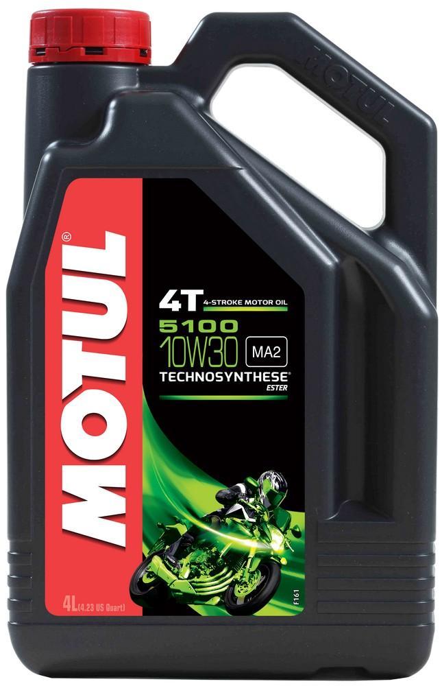 Moottoriöljy MOTUL 5100 4T 10W30 ESTER 4L