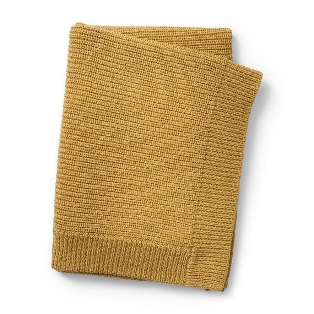 Elodie Details - Wool Knitted Blanket - Gold