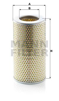Ilmansuodatin MANN-FILTER C 15 163/1
