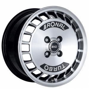 Ronal R10 Turbo Black Polished 7x15 4/108 ET28 B76