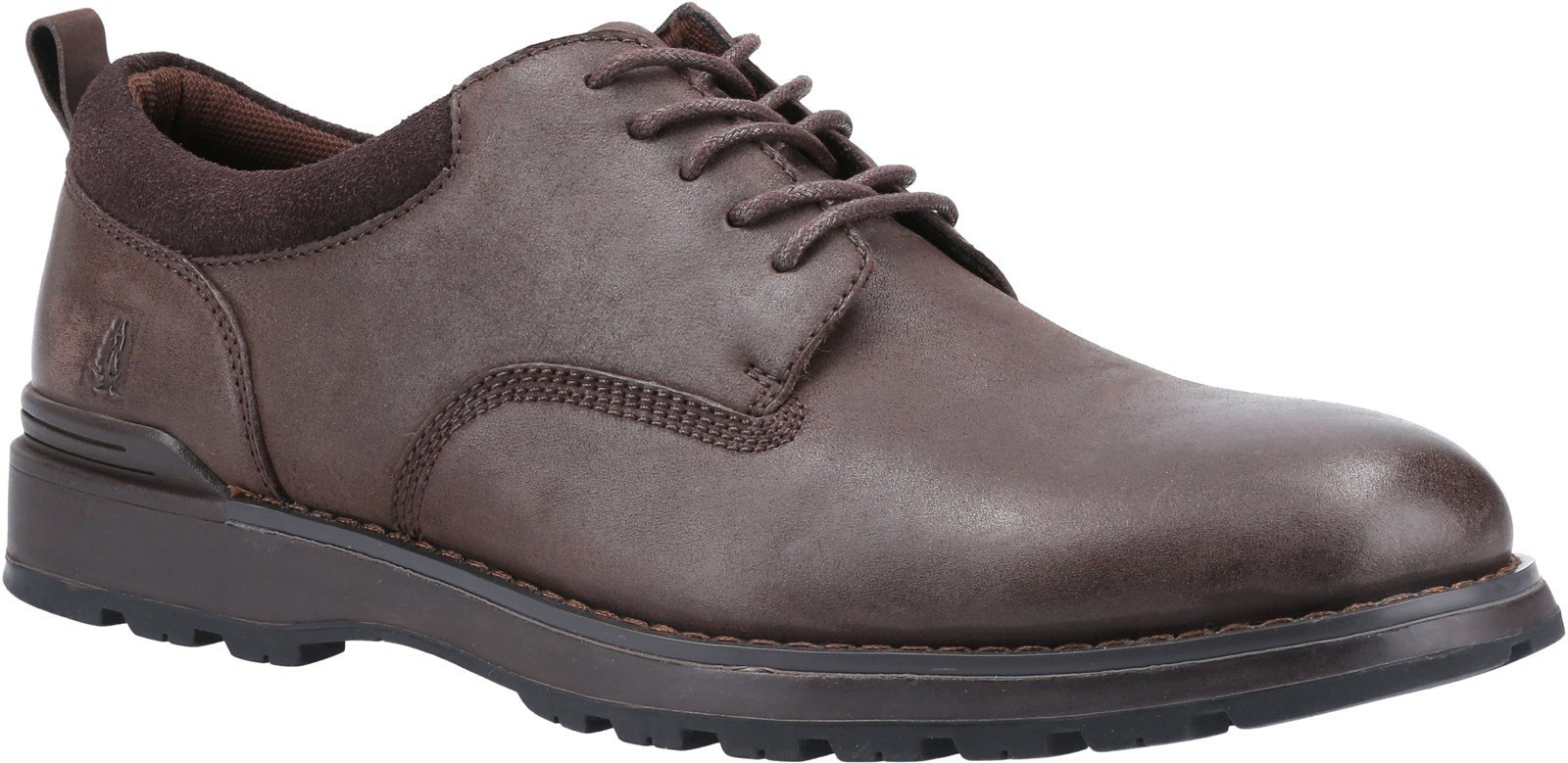 Hush Puppies Men's Dylan Lace Derby Shoes Various Colours 31996 - Brown 6
