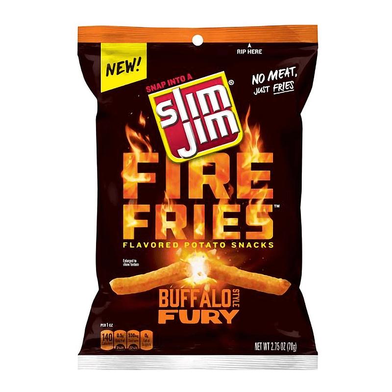 Slim Jim Fire Fries Buffalo Style Fury 78g