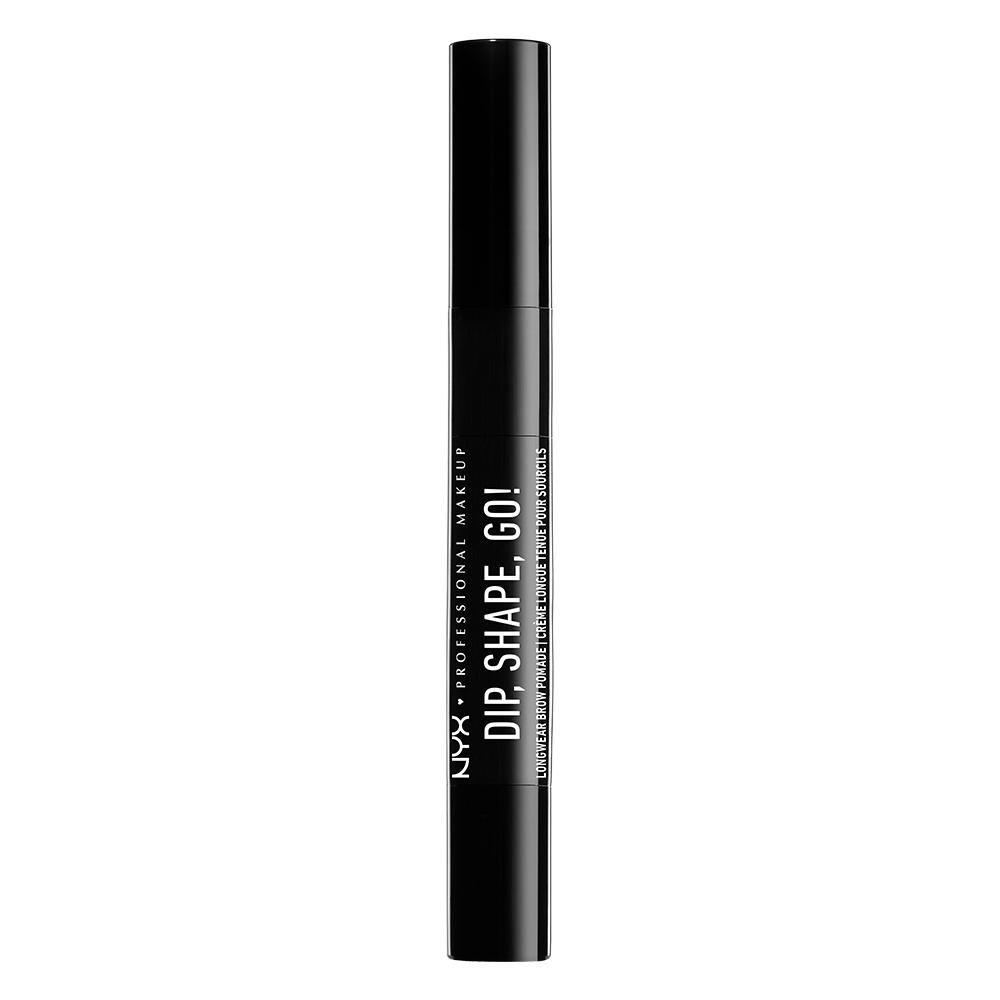 NYX Professional Makeup - Dip Shape Go Longwear Brow Pomade - Black