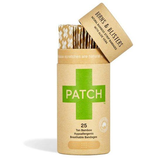 Nutricare PATCH Plåster av ekologisk bambu - Aloe vera, 25 st