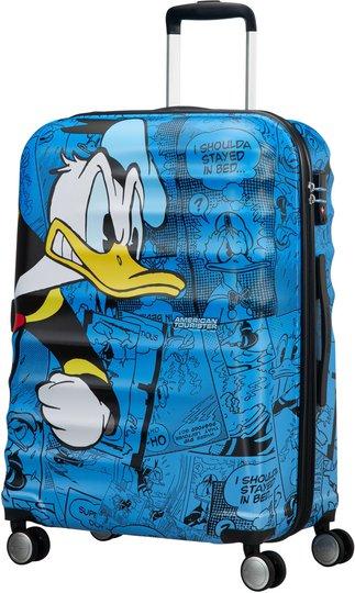 American Tourister Disney Donald Duck Trillekoffert, Blå, 64L