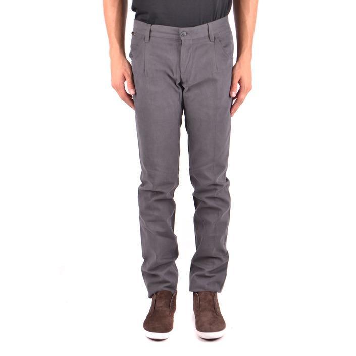 Dolce & Gabbana Men's Trouser Grey 187195 - grey 44